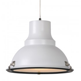industriele lamp wit