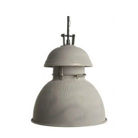 hk living grijze industriele lamp