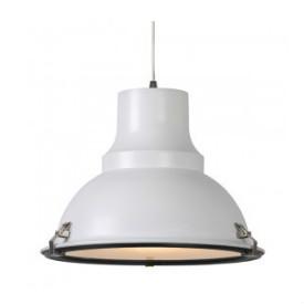 industriele lamp wit met glas