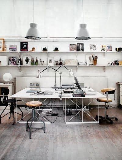 kantoor industriele lamp 3